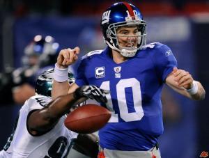 No, not THAT curse on Eli.