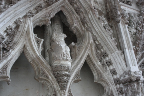 Decapitated Statue at Ely Cathedral