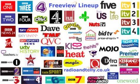 Here's a bunch of UK TV channels that I know nothing about