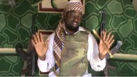"Boko Haram leader Abubakar Shekau defends the kidnapping/sale of the girls on the basis of what he thinks Allah told him to do: ""God instructed me to sell them, they are his properties and I will..."""