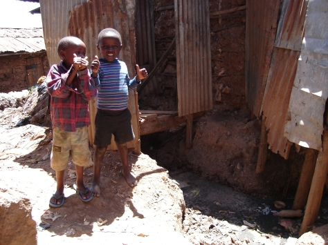 My two favorite boys from my first trip to Kibera