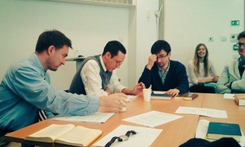 Peter Gurry responding to Matt Thomas in the NT Seminar
