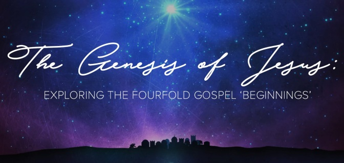 "Series on the ""Genesis of Jesus"" at River Oaks Church"