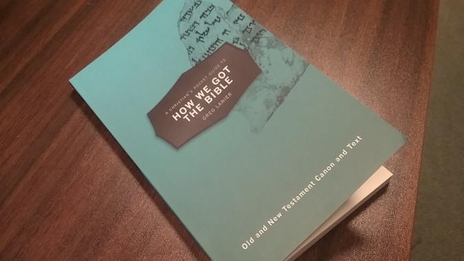 New Book on OT/NT Canon and Text